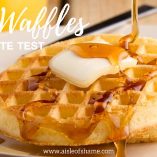 Aldi Waffles