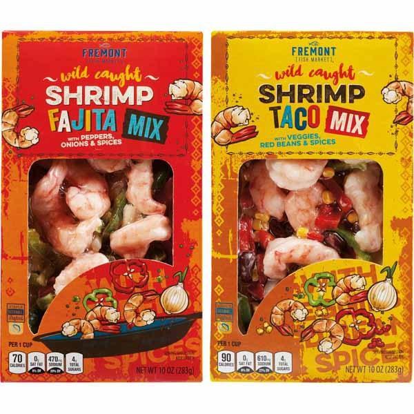 Fremont Fish Market Shrimp Fajita or Shrimp Taco Mix