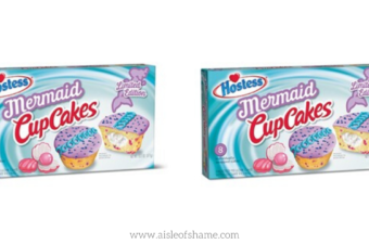 Hostess Mermaid Cupcakes available at Aldi