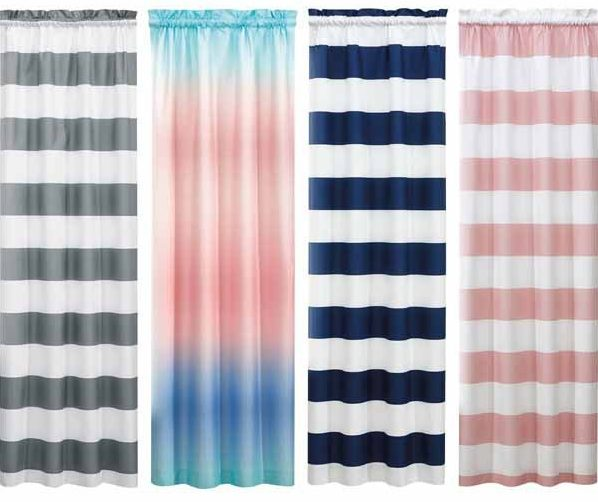 Huntington Home ombre curtains