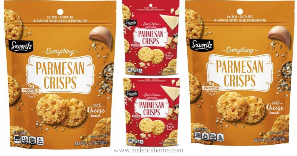 Parmesan Crisp flavors