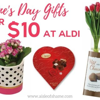 Valentine's Day Aldi gifts