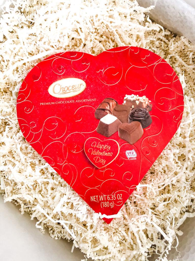 Choceur Assorted Chocolates Heart Box