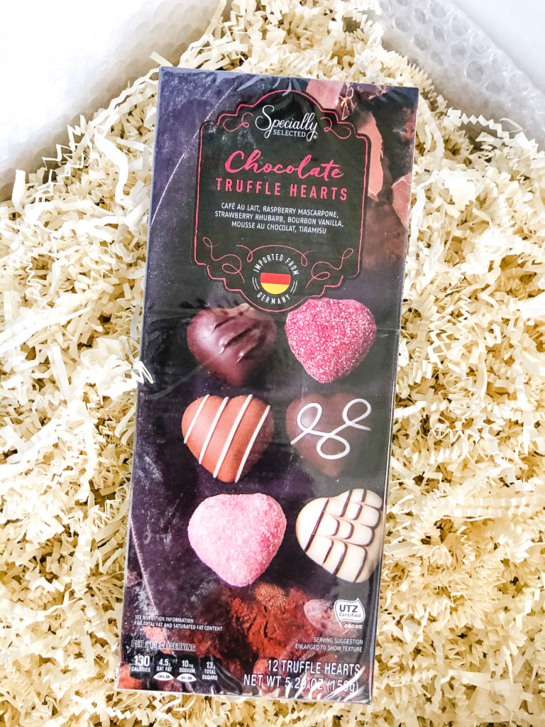 Specially Selected Chocolate Truffle Hearts