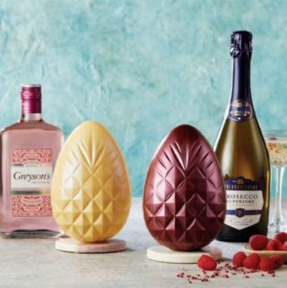 Aldi Boozy Easter Eggs are infused with gin and prosecco.
