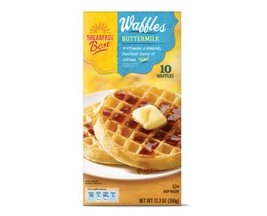 Breakfast Best Waffles from Aldi