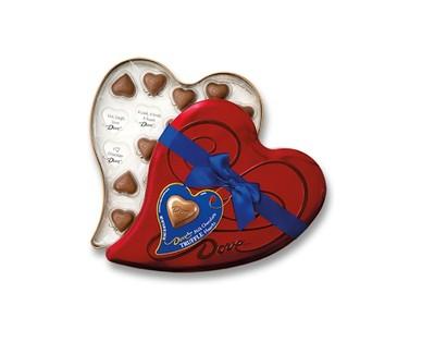Dove valentine's day chocolate