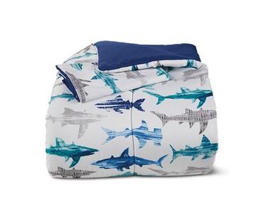 aldi shark comforter