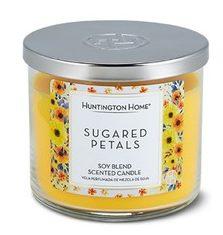 Sugared Petals Aldi candle