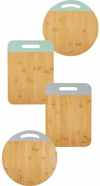 Crofton color dipped wood cutting boards
