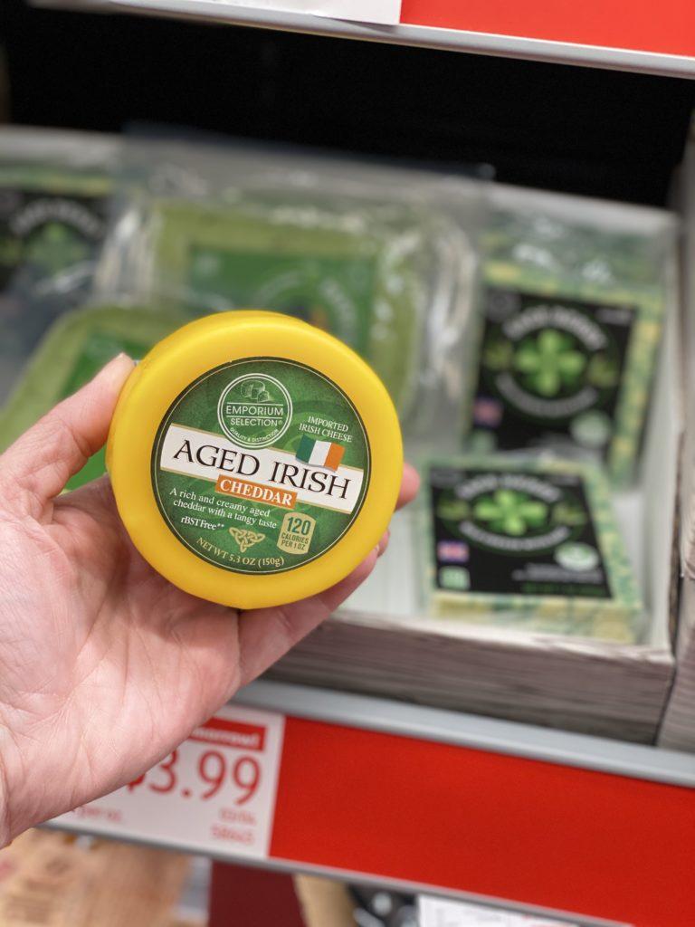 Aldi St. Patrick's Day Cheese