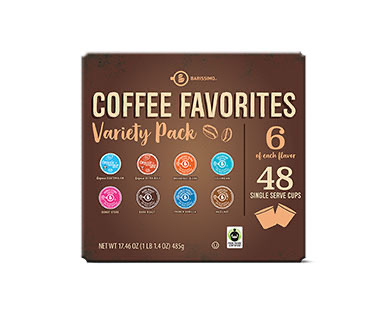 Coffee K cup variety pack at Aldi