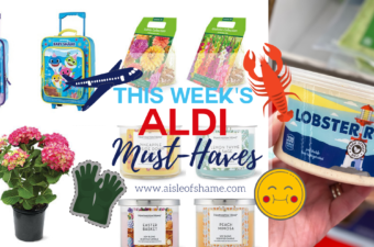 Lobster roll dip from Aldi and more must haves