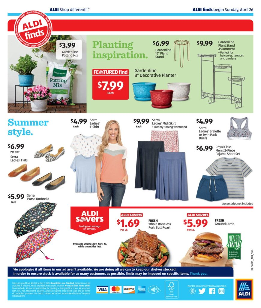 aldi ad preview mother's day