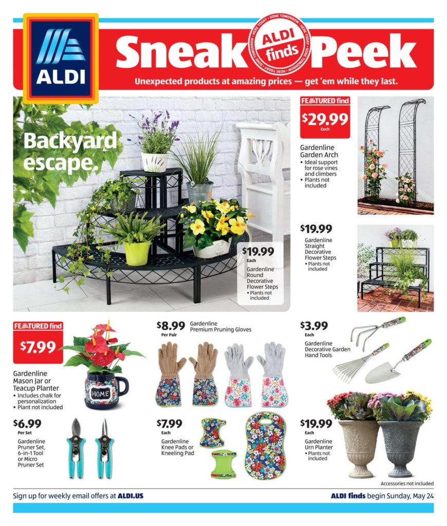 Aldi ad preview for May 27th 2020 page 1 of 4