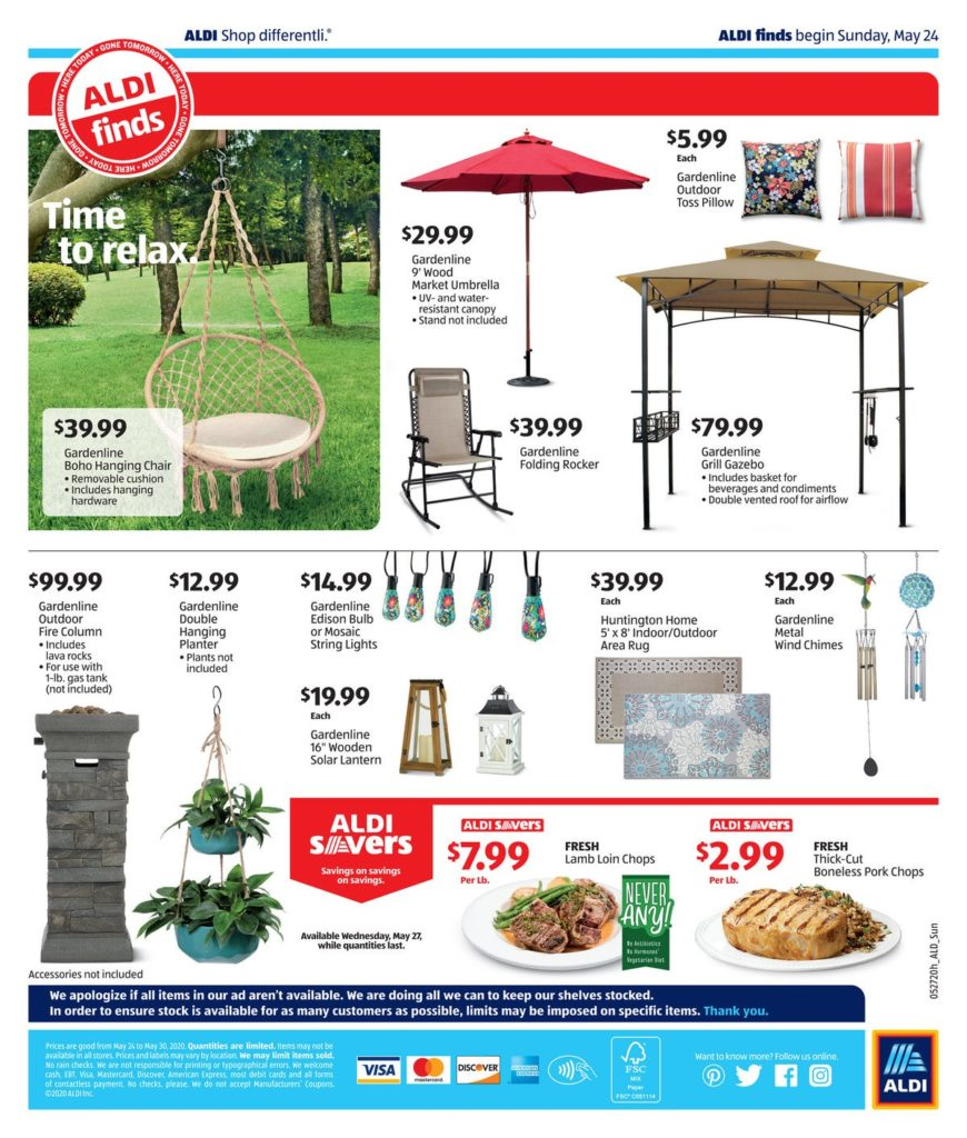 Aldi ad preview for May 27th 2020 page 4 of 4