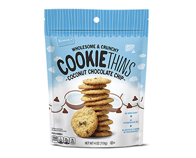 coconut chocolate cookie thins