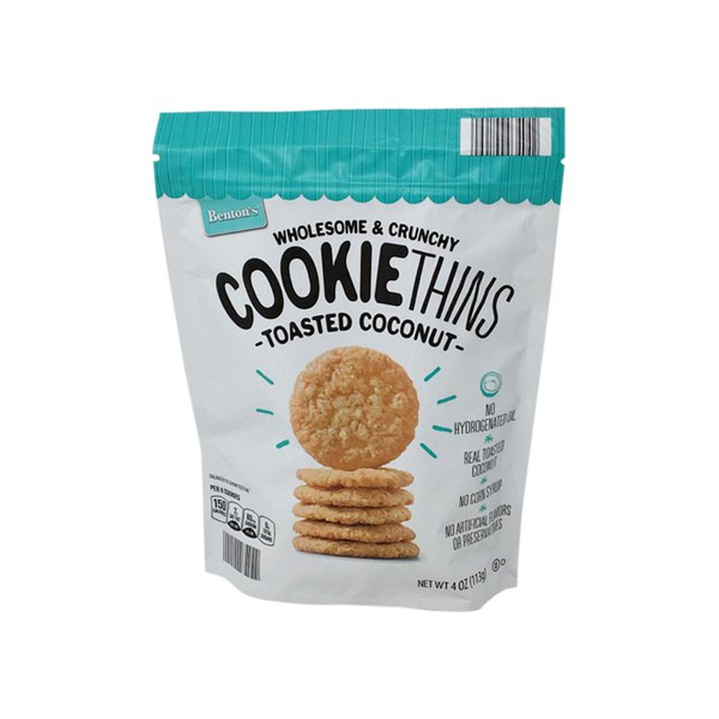 Aldi cookie thins toasted coconut
