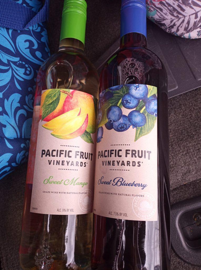 aldi mango wine and aldi blueberry wine