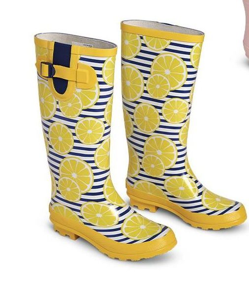 Aldi lemon boots