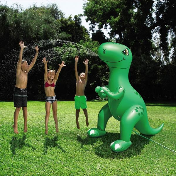 aldi dinosaur sprinker