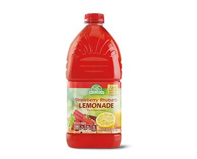 Aldi strawberry rhubarb lemonade