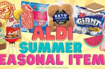 aldi summer seasonal items
