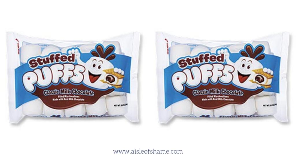 Chocolate stuffed marshmallows