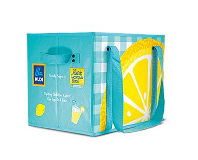 Aldi lemon box bag