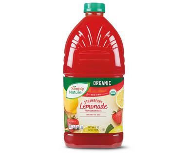 Simple Nature Organic Lemonade