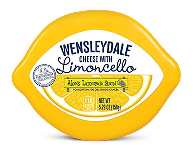 wensleydale cheese with limoncello