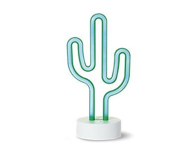 Aldi cactus lamp