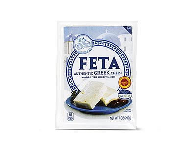 imported greek feta at aldi
