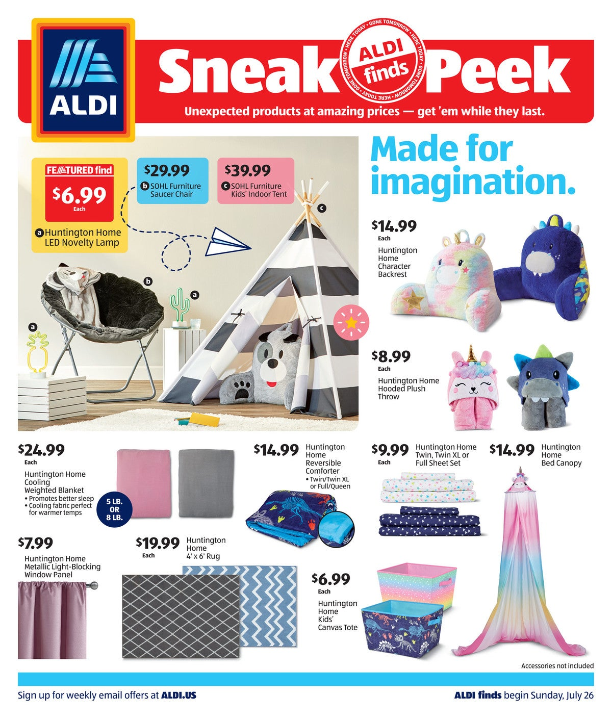 aldi ad preview July 29th - August 4th, 2020