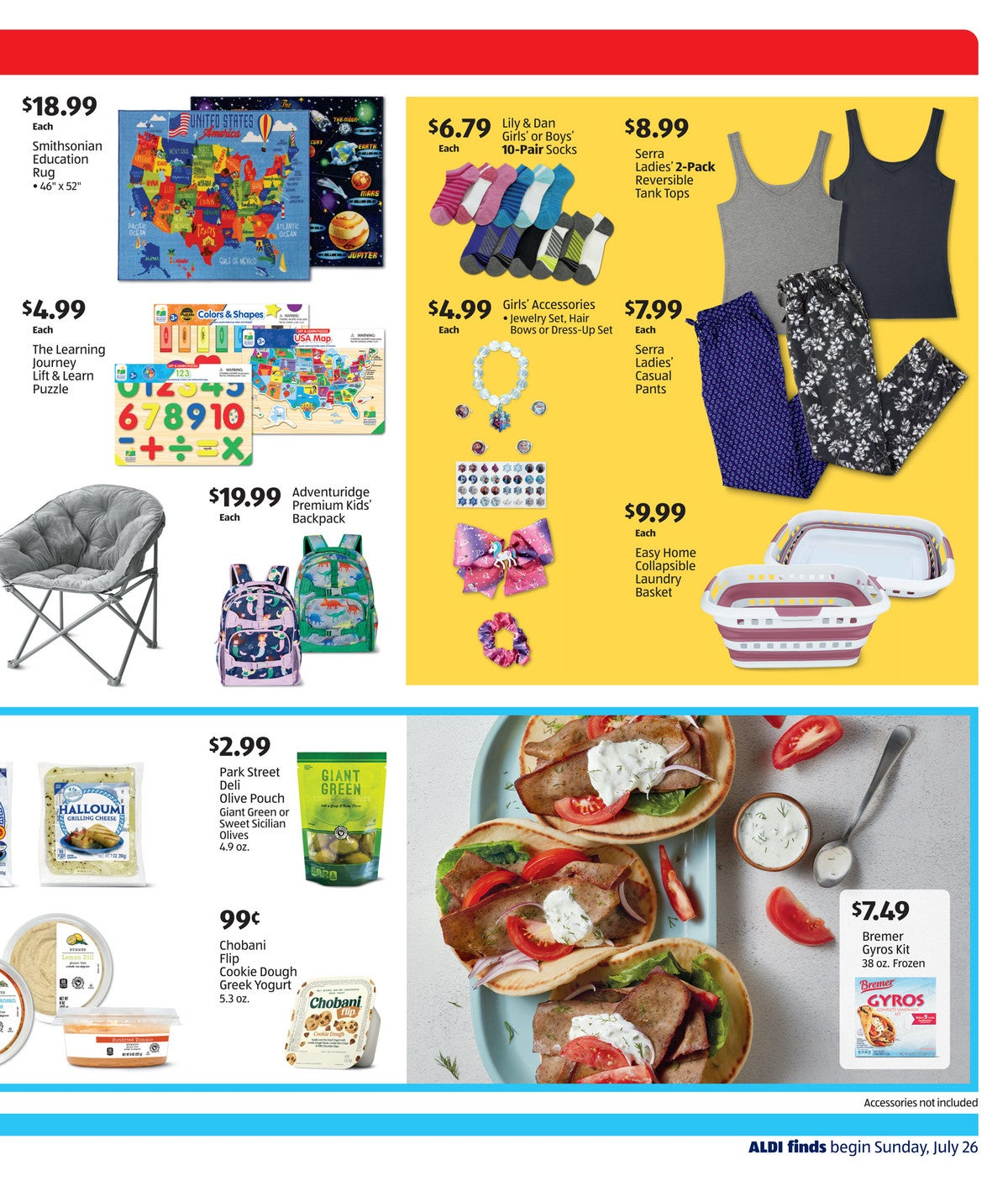 aldi ad preview July 29th - August 4th, 2020 page 3