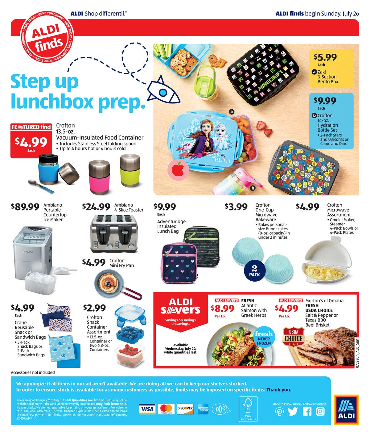 aldi ad preview July 29th - August 4th, 2020 page 4