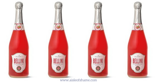 Aldi Strawberry Bellini