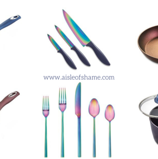 Aldi Iridescent Knives
