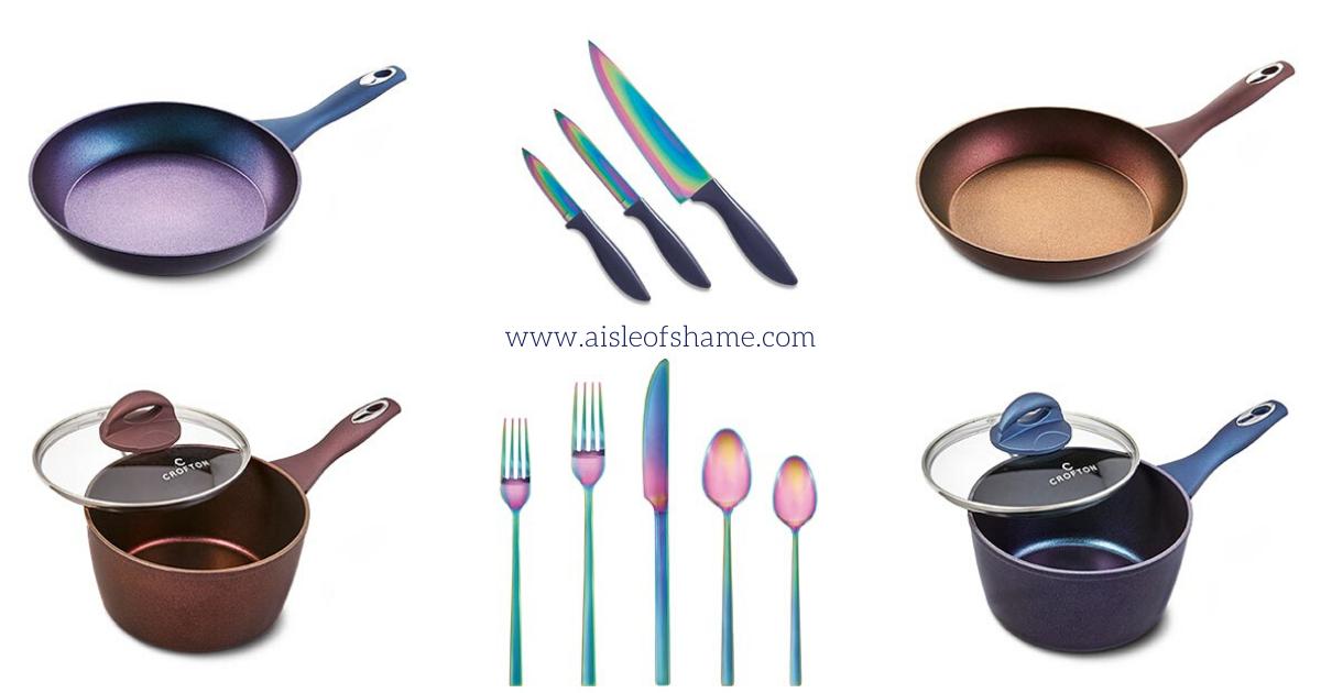 Aldi Iridescent Knives