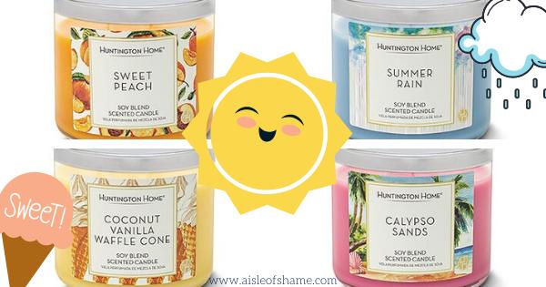 Aldi Summer candles