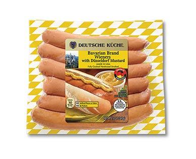 Deutsche Küche Bavarian Brand Wieners Mustard