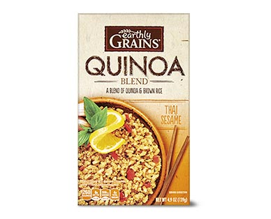 Earthly Grains Flavored Quinoa Blends