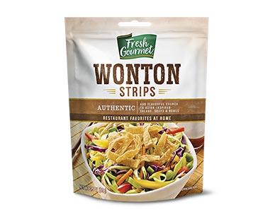 Fresh Gourmet Wonton Strips