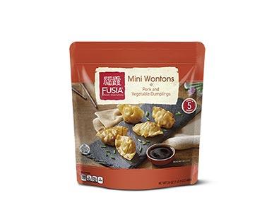 Fusia Pork and Vegetable Mini Wontons
