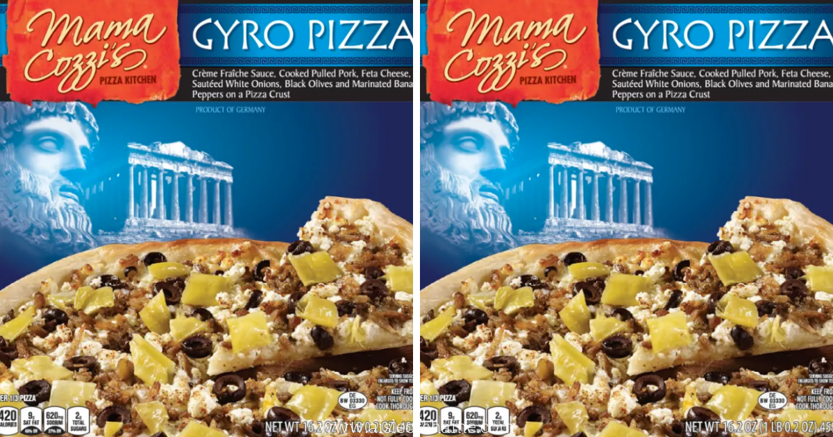 Gyro Pizza at Aldi