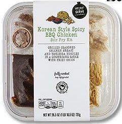 Korean Style Spicy BBQ Chicken Stir Fry Kit