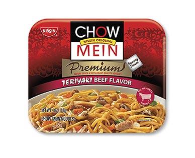 Nissin Chow Mein Noodles Teriyaki Beef