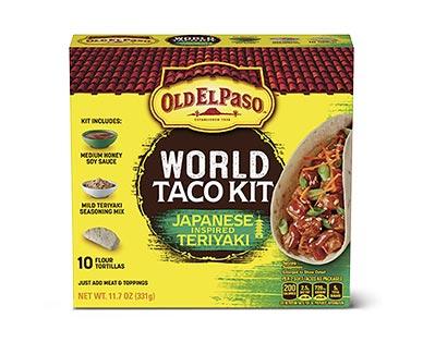 Old El Paso Japanese Inspired Teriyaki Taco Kit