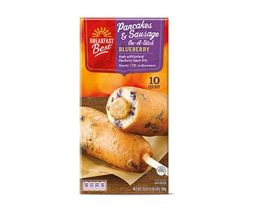 aldi Blueberry Pancakes Sausage On Stick