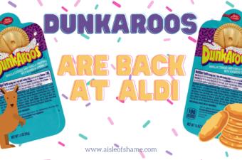 Dunkaroos at Aldi